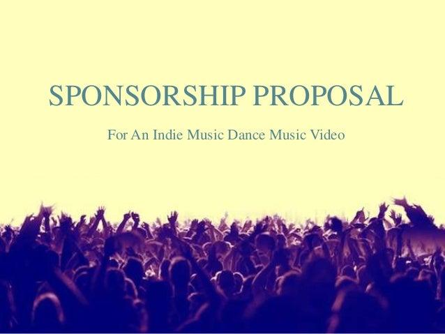Sponsorship Proposal Template Powerpoint Bellacoola