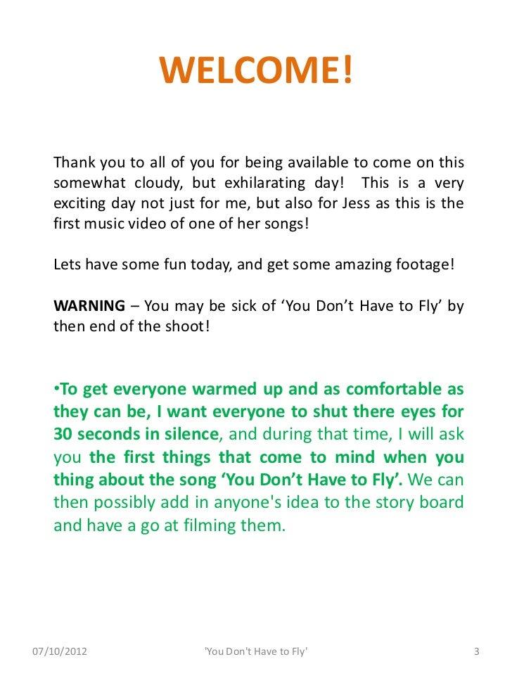 Music Video Information Pack Slide 3