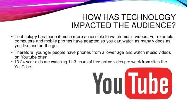 Music videos powerpoint