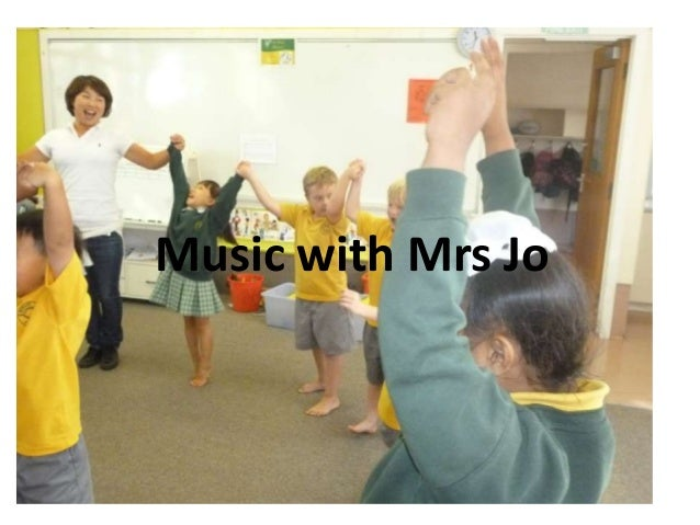 Music with Mrs Jo