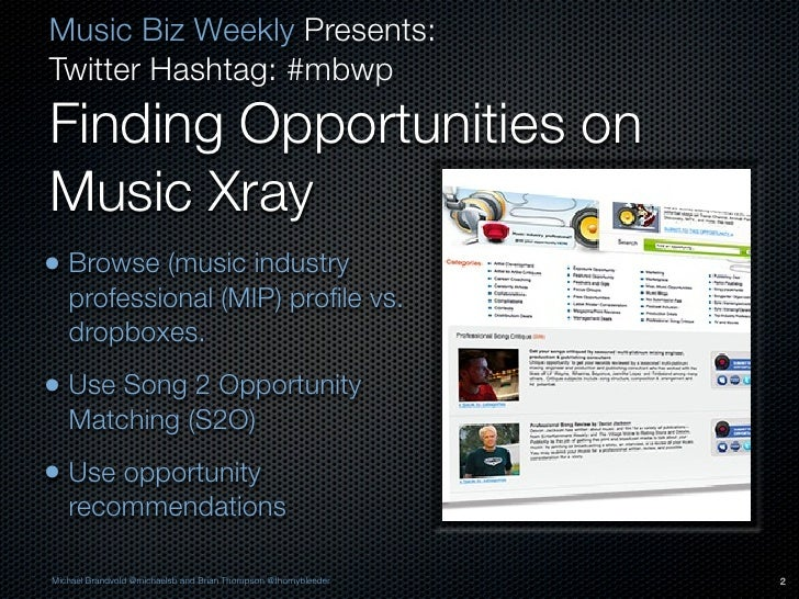 How to use Music Xray to submit your music for licensing