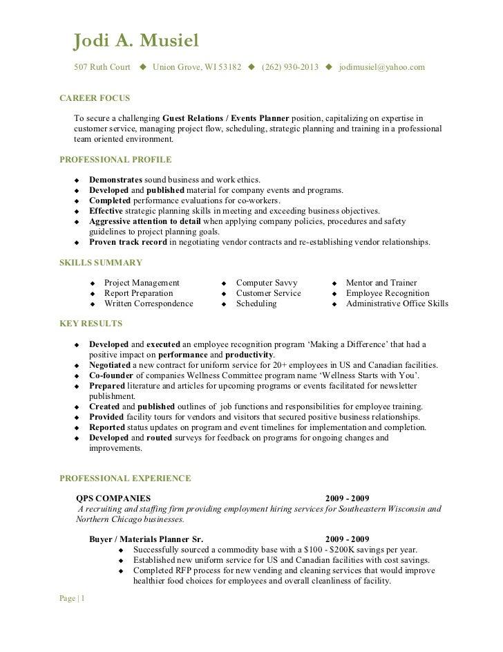 SlideShare  Computer Savvy Resume