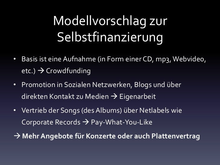 Online Marketing für Bands und Musiker
