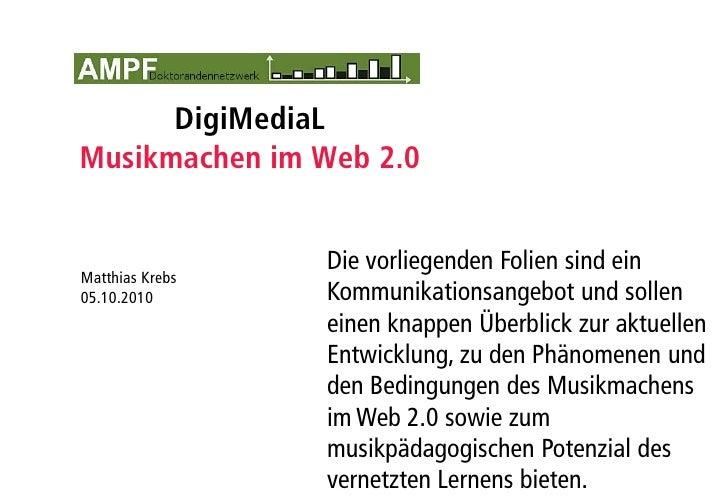 Musikmachen im Web 2.0 (AMPF 2010)