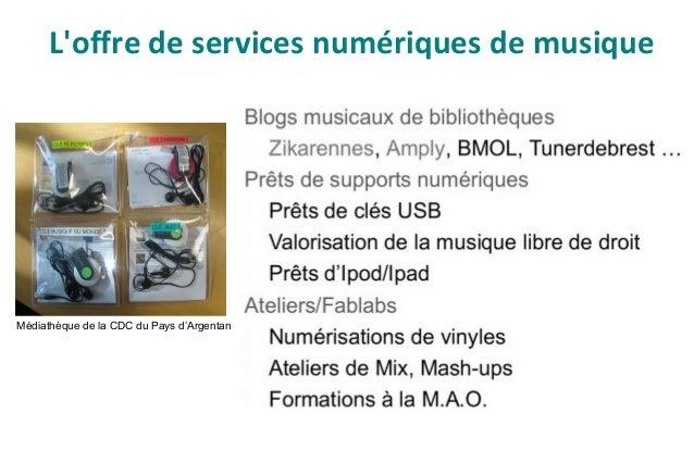 Pour aller plus loin BIBLIOGRAPHIE : ● Musique en bibliothèque, Gilles Pierret (dir.). – Paris : Editions du Cercle de la ...