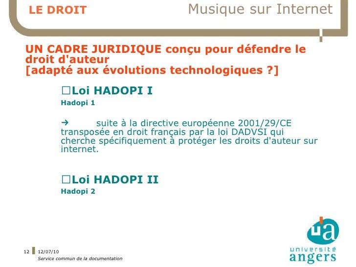 LE DROIT                                 Musique sur Internet  UN CADRE JURIDIQUE conçu pour défendre le droit d'auteur [a...