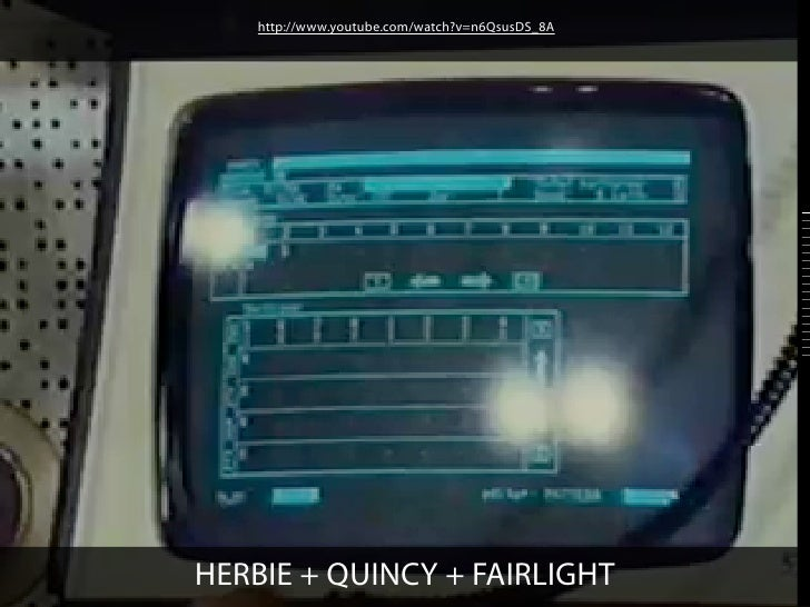 http://www.youtube.com/watch?v=n6QsusDS_8AHERBIE + QUINCY + FAIRLIGHT