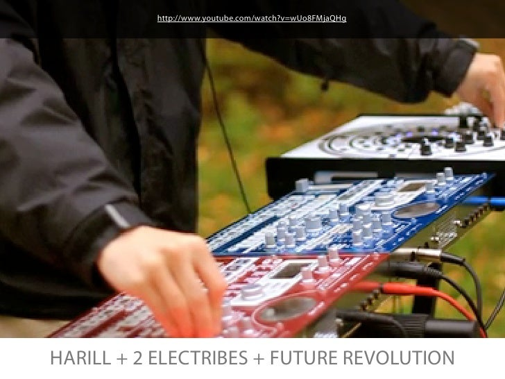 http://www.youtube.com/watch?v=wUo8FMjaQHgHARILL + 2 ELECTRIBES + FUTURE REVOLUTION