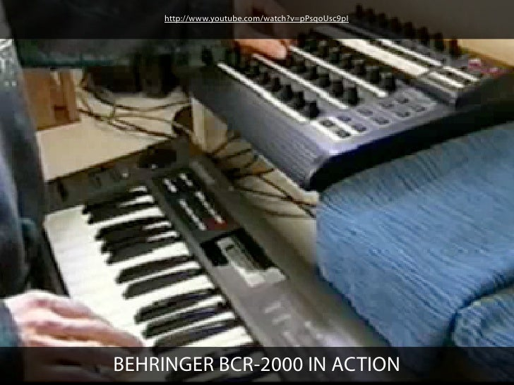 http://www.youtube.com/watch?v=pPsqoUsc9pIBEHRINGER BCR-2000 IN ACTION