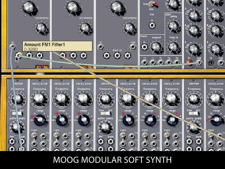 MOOG MODULAR SOFT SYNTH