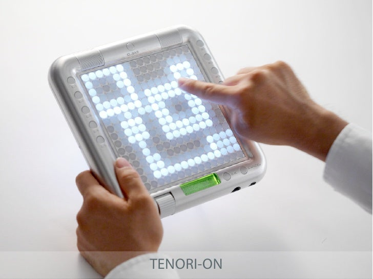 TENORI-ON - INSPIRATION