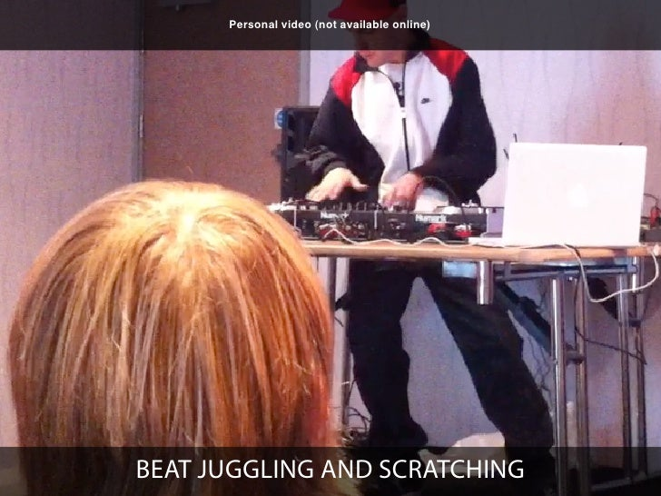 Personal video (not available online)CD SCRATCHING - NUMARK VINYL REPLICATION