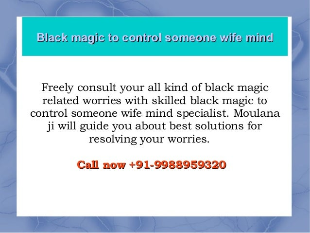 Black magic to get your ex back +91-9988959320