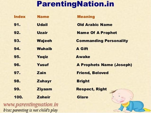 Old Arabic Girl Names