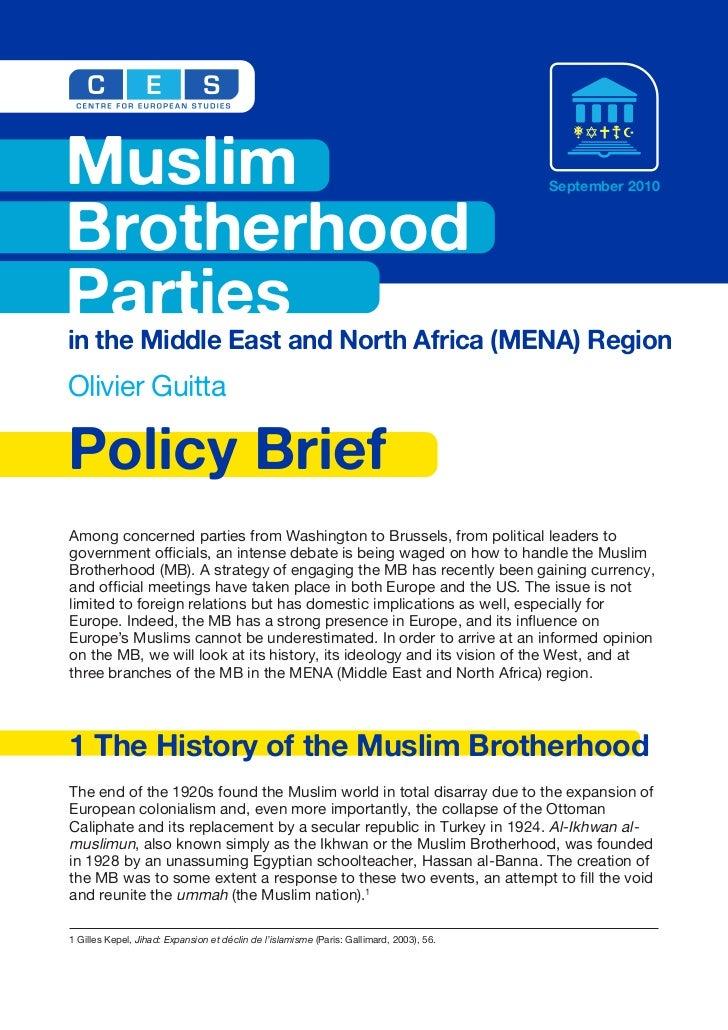 Muslim                                                                                    September 2010BrotherhoodParties...