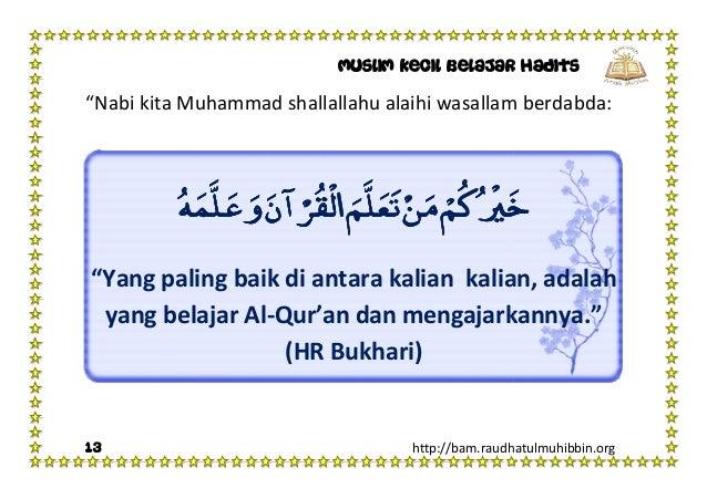 Image result for hadits keutamaan belajar al quran