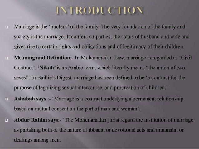 definition of muslim law