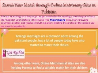 Matchmaking sites Pakistan veel meer ondeugende vis dating