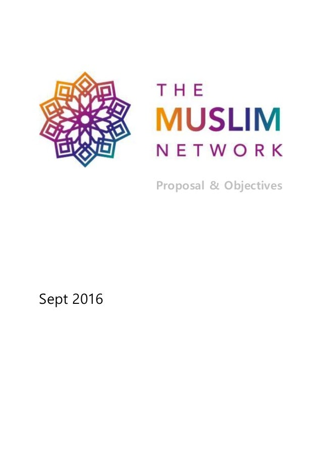 Proposal & Objectives Sept 2016