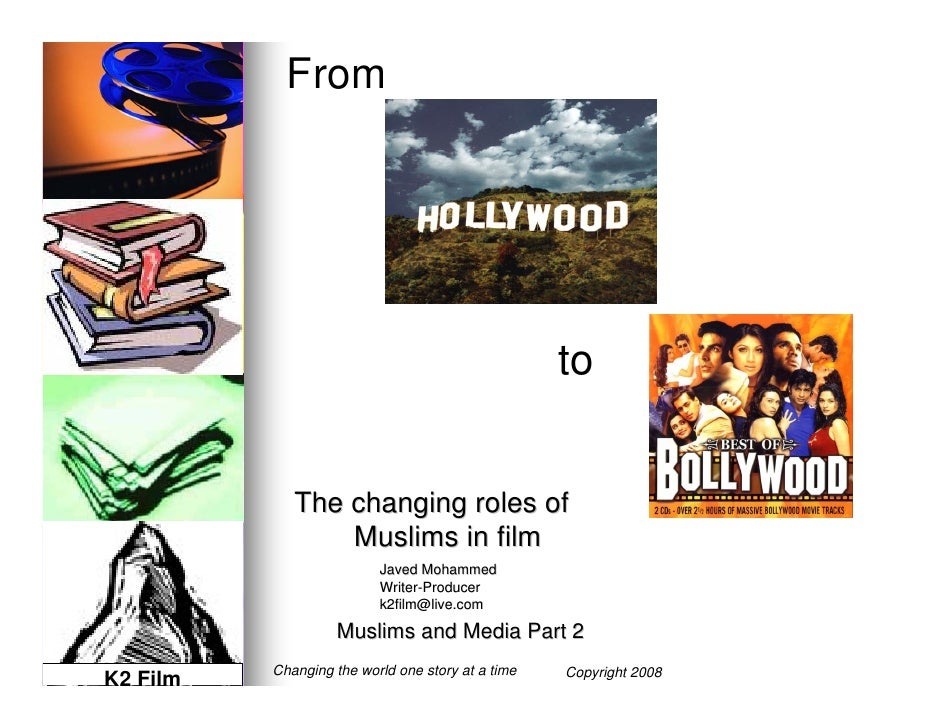 From                                              to      The changing roles of        Muslims in film                 Jav...