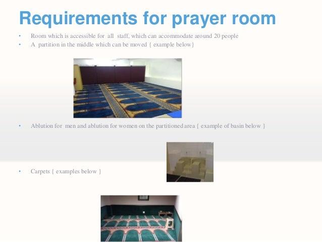 Requst for Prayer Room 2