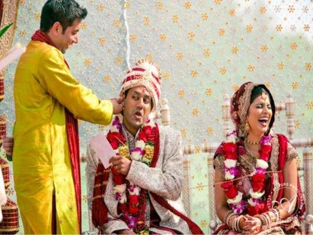Traditional wedding ceremony in kerala