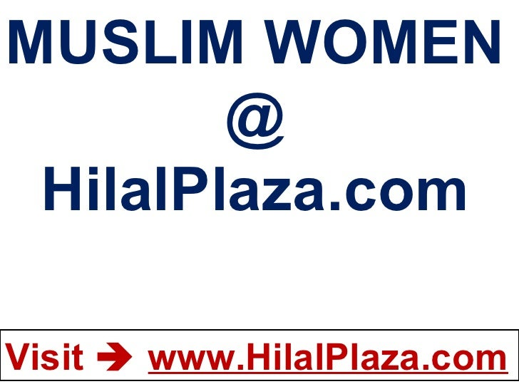 MUSLIM WOMEN @ HilalPlaza.com