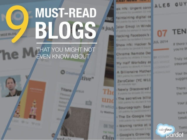 9 Must-Read Blogs (You Might Not Even Know About)