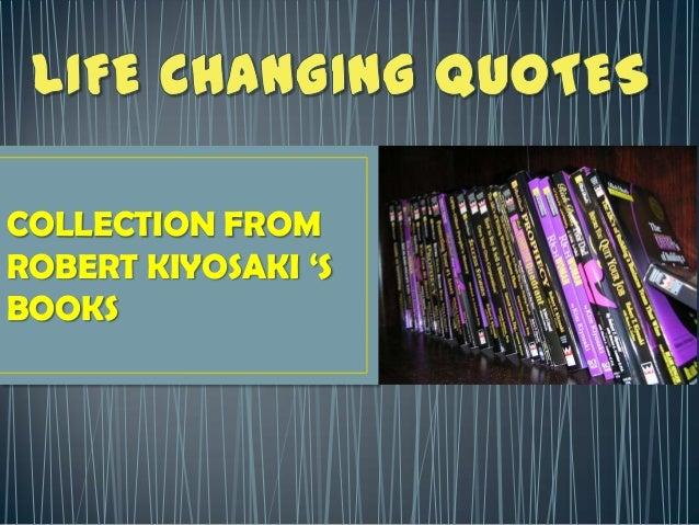 COLLECTION FROM ROBERT KIYOSAKI 'S BOOKS