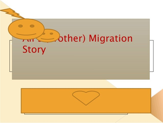 Click to edit Master subtitle style 28/01/15 Ali's (Brother) Migration Story