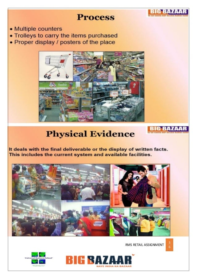 project report on sales strategy of big bazaar A project report on retail visit of big bazaar, kalyan, mumbai.
