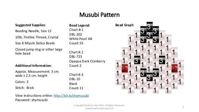 Beaded Musubi Tutorial (Kawaii Rice Ball) Slide 2