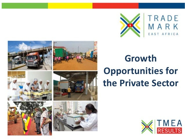 Growth Opportunities for the Private Sector
