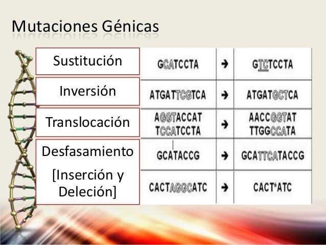 Mutacion por sustitucion de bases of dating 9