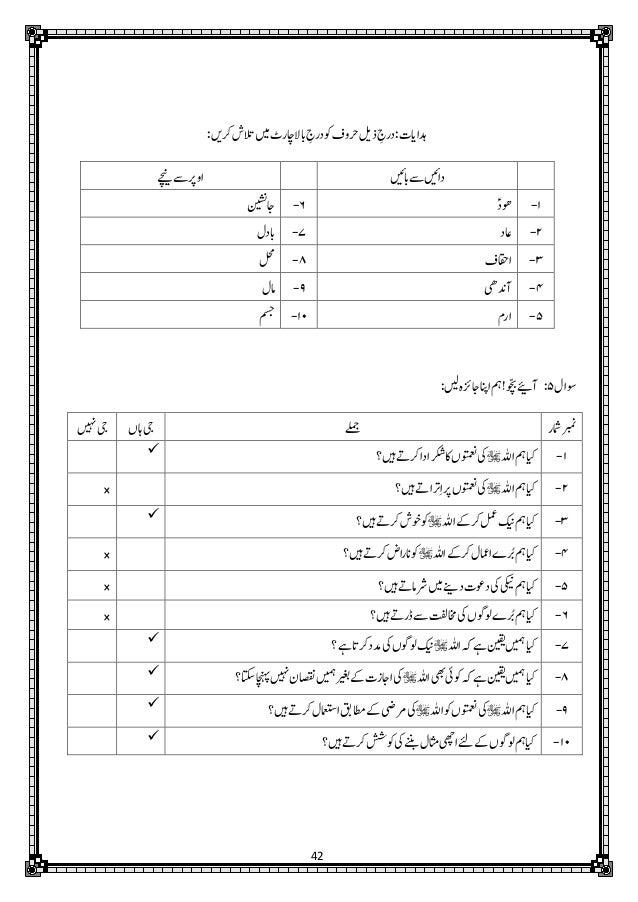 Mutalae Quran-e-Hakeem Part-1 (3rd Edition) - Teachers' Guide