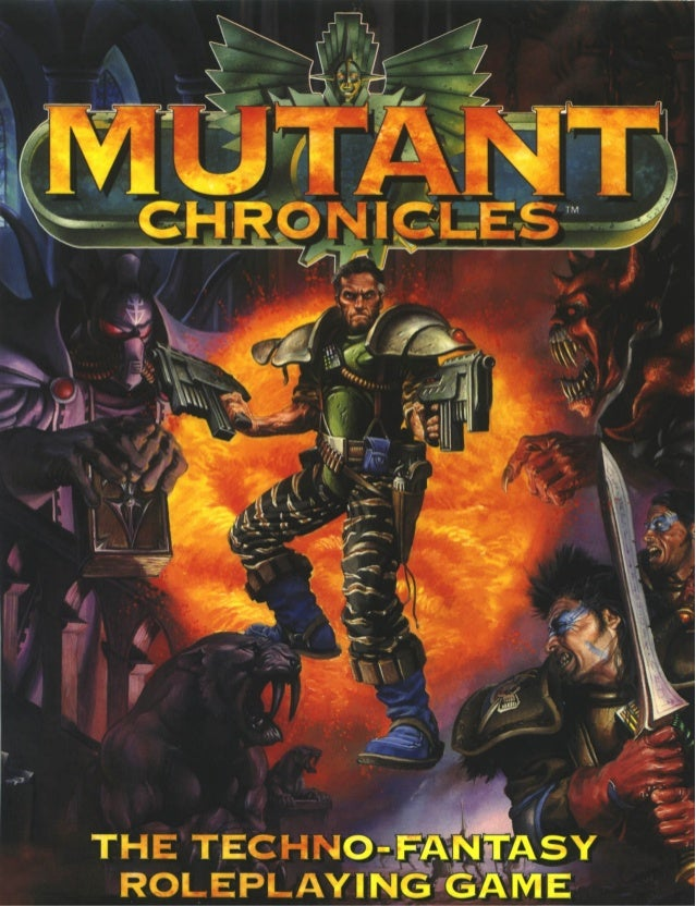 Pdf mutant chronicles