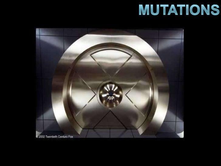 Mutations<br />