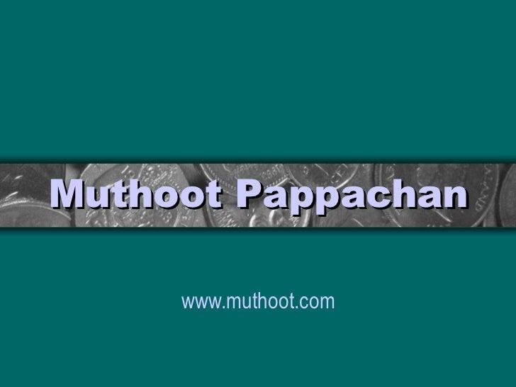 Muthoot   Pappachan www.muthoot.com