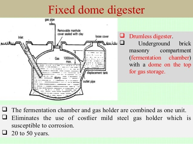 floating drum type biogas plant pdf