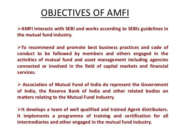 Amfi code of ethics