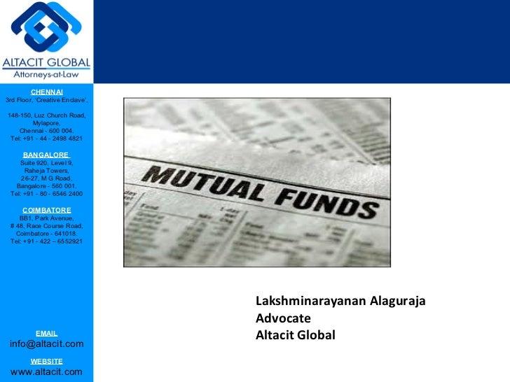 Lakshminarayanan Alaguraja Advocate Altacit Global