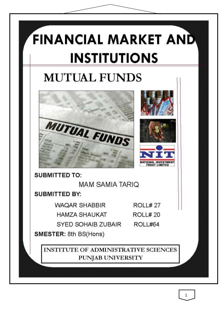 MUTUAL FUNDS               1