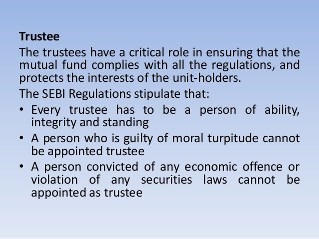 critical apraisal if role of sebi Function, which involves a continuous and critical appraisal of the functioning of an entity with a view • internal audit's role should be a dynamic one (sebi) has introduced.