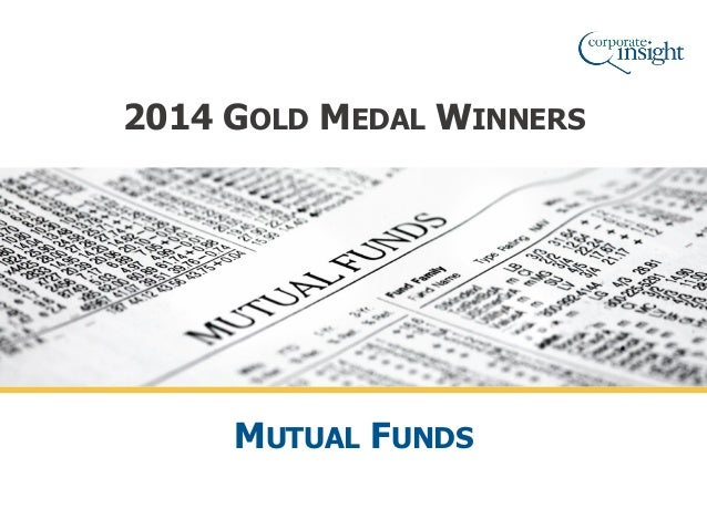 Mutual fund 2014 gold monitor award winners