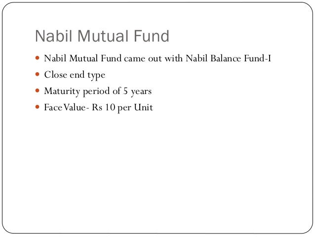 ncm mutual fund The history of mutual fund started with the floatation of ncm mutual fund, 2050 the open-ended fund had 10 million units outstanding with rs 10 par value, and 10 years maturity period currently, there are 13 mutual funds schemes running in the nepali stock market and yet many say we are just getting started.