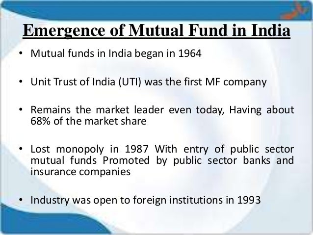 thesis on mutual funds in india The indian mutual fund industry is growing rapidly and this is reflected in the increase in assets under management of various fund houses mutual.
