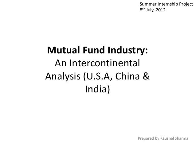 pest analysis on indian mutual fund industry The impact of political, economic, socio-cultural, environmental and other  environmental and other external influences  industry analysis.