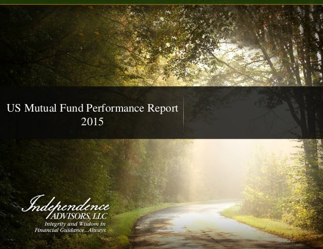 US Mutual Fund Performance Report 2015