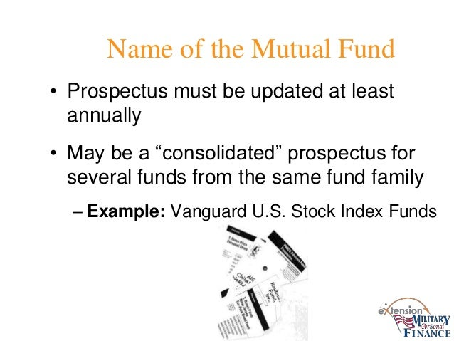 td mutual funds prospectus document