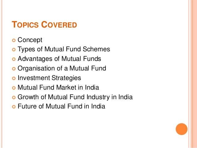 Mutual funds Slide 2